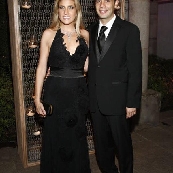 Paulina Díaz Ordaz y Jesús Sesma