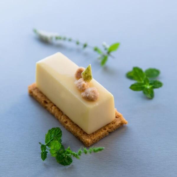 tarta de limon menta
