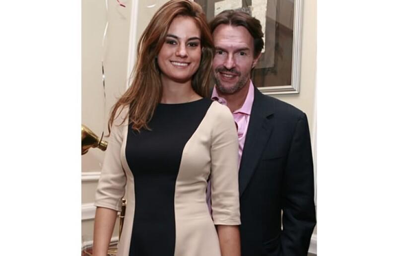 Paola Albarrán y Fernando Landeros