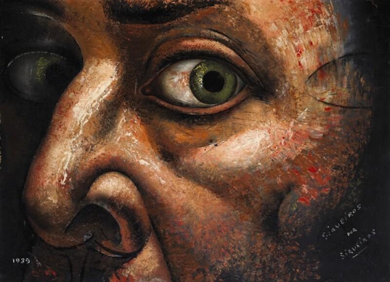"""""""Siqueiros por Siqueiros"""" de David Alfaro Siqueiros."""