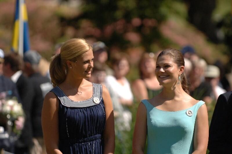 Una visita a Nueva York por parte de Victoria podría mejorar la relación de las hijas del Rey.