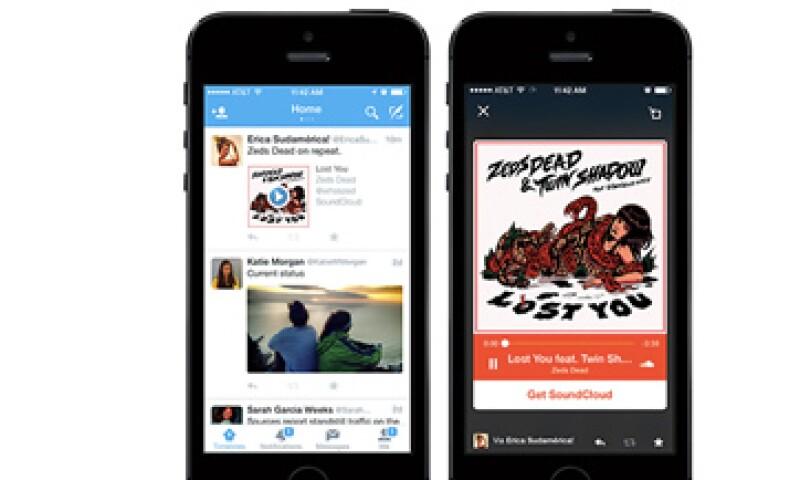 Twitter busca más socios con contenido para el futuro. (Foto: Cortesía Twitter )