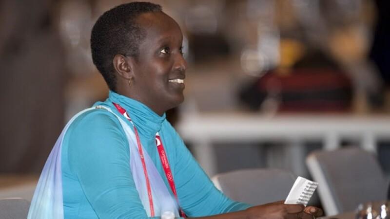 Lydia Nsekera será la primera integrante del comité ejecutivo de la FIFA