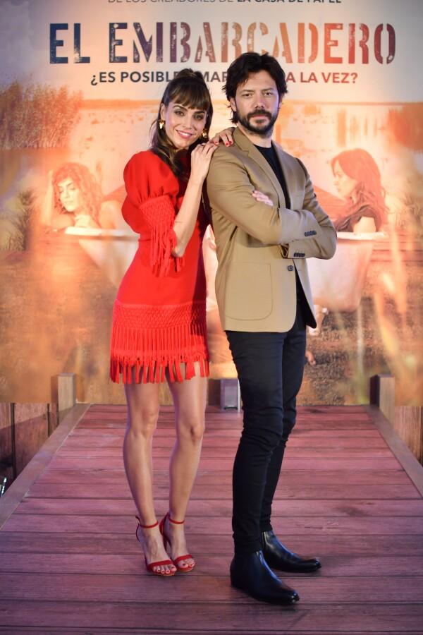 Irene Arcos y Álvaro Morte