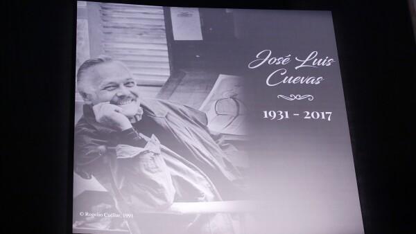 Funeral José Luis Cuevas Palacio de Bellas Artes