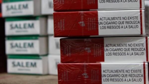 Cajetillas estrenan etiquetas sobre riesgos del tabaquismo. (Foto: Cuartoscuro)