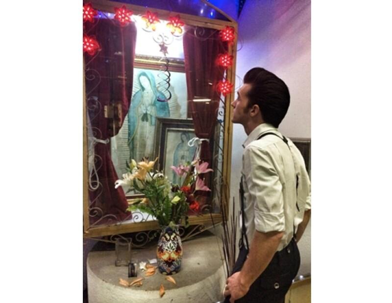 Durante su visita a México, Drake conoció más acerca de la religión del país.