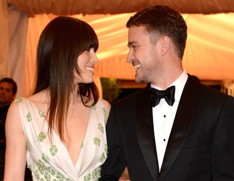 Jessica contrajo matrimonio con Justin el 19 de octubre, después de cinco años de relación.