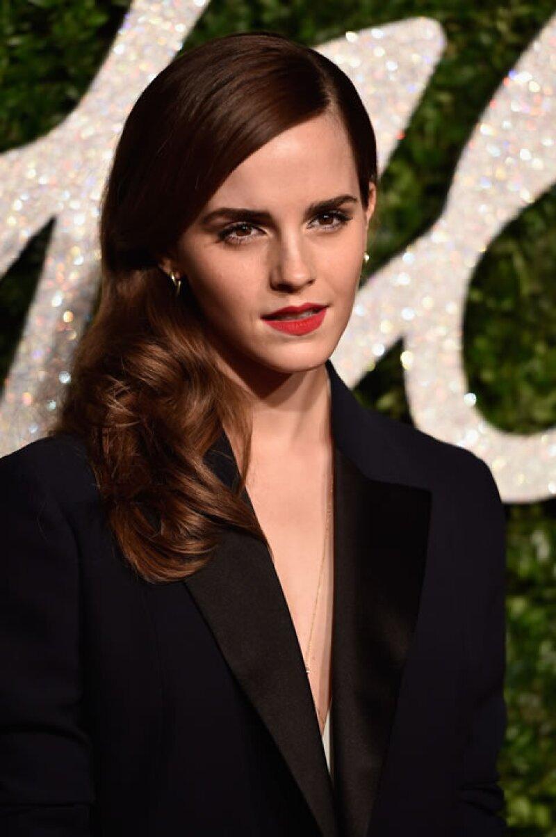 Emma en los British Fashion Awards en diciembre de 2014.