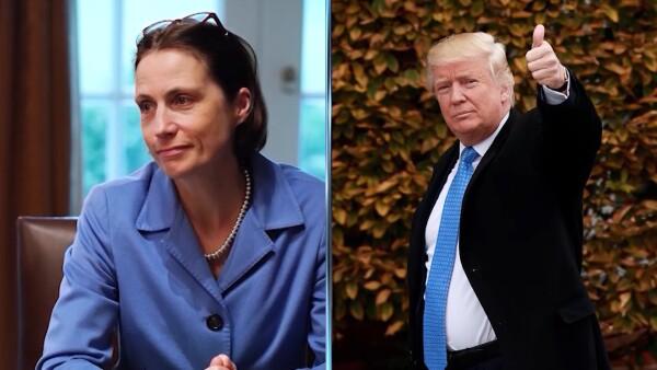 Exasesora de Trump testifica en Congreso de EU por posible juicio de destitución