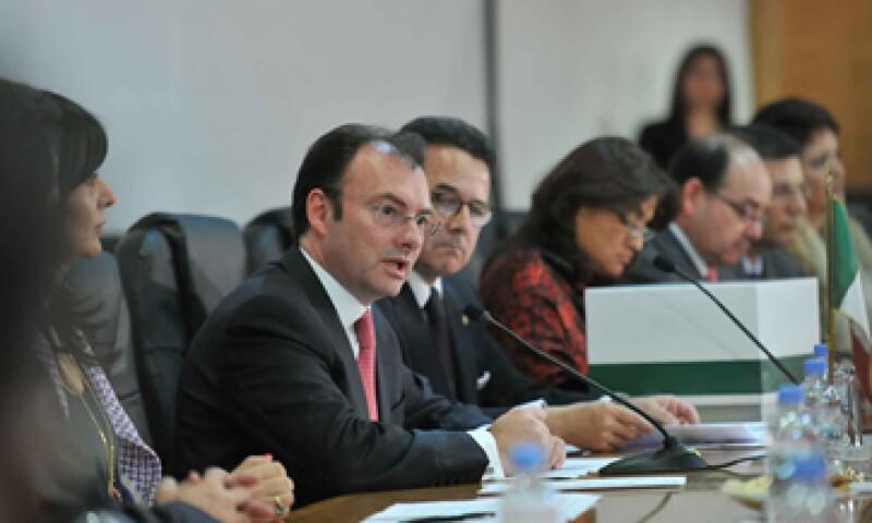 El secretario Videgaray  presentó el Paquete Económico el viernes. (Foto: Notimex)