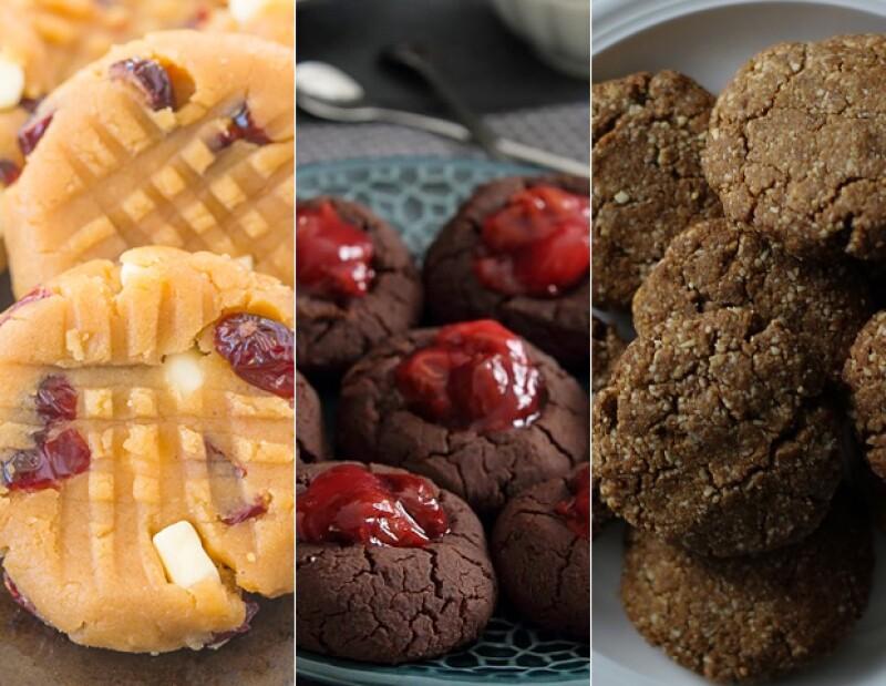 Aprovecha las fiestas para probar estas 3 recetas sanas, pero deliciosas.