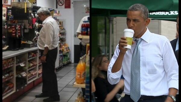 AMLO Obama