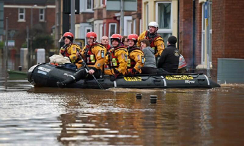 Los condados de Lancashire y Cumbria fueron los más afectados. (Foto: Getty Images)