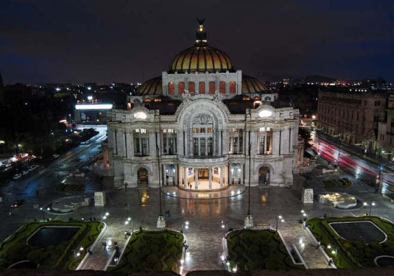 Bellas Artes by Adamo Boari