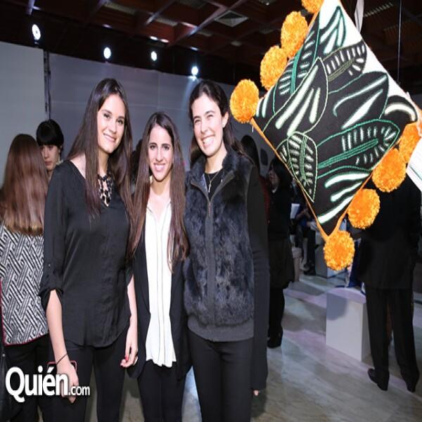 Maya March, Nina Romero y Marcel Saiz