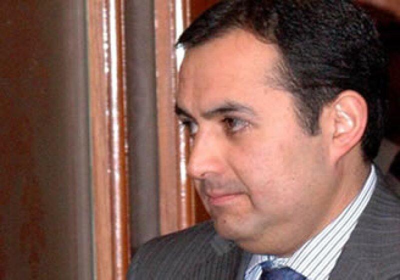 Ernesto Cordero, secretario de Hacienda, reiteró su pronóstico de que la economía mexicana crecería entre un 4 y 5% este año. (Foto: Notimex)