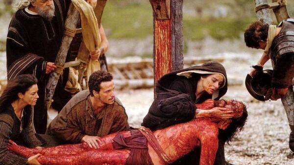 'La pasión de Cristo'.