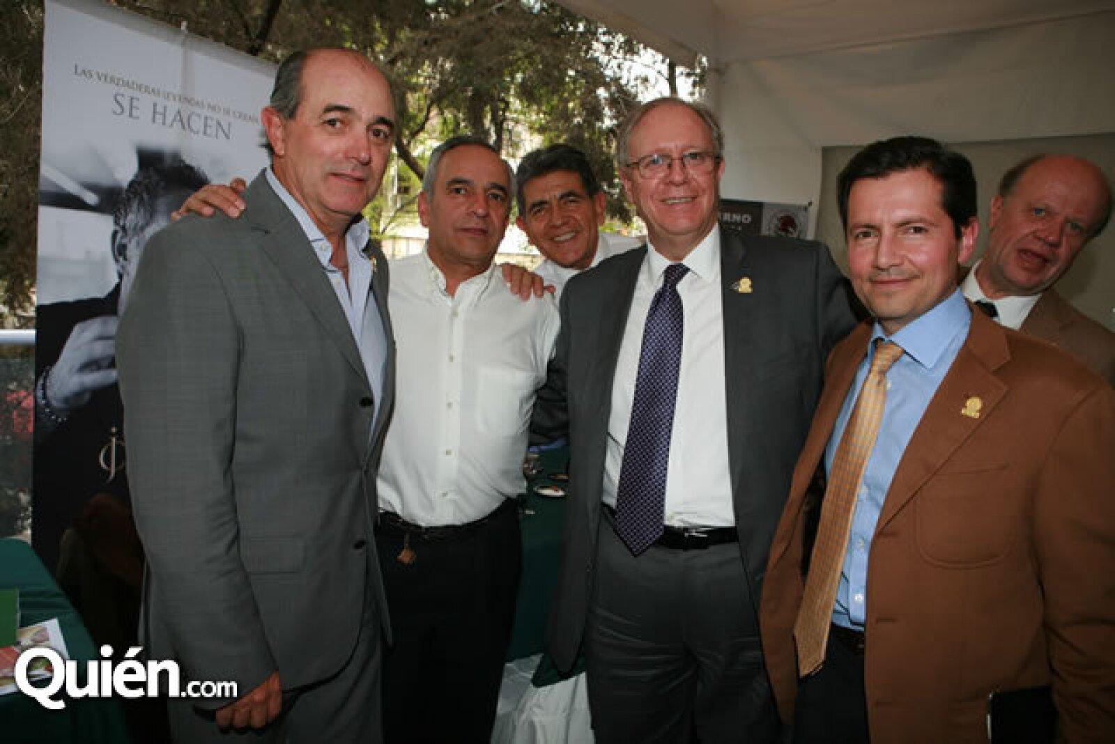 Manuel Gutiérrez, Daniel Loeza, Fernando Morales y Federico Fernández Quiroz