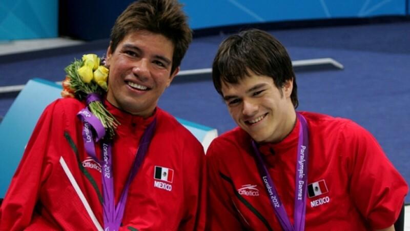 juan ignacio reyes y gustavo sanchez natacion londres 2012 paralimpicos