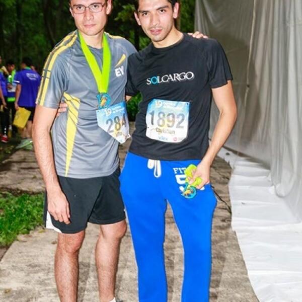 Emmanuel y Christian Parra
