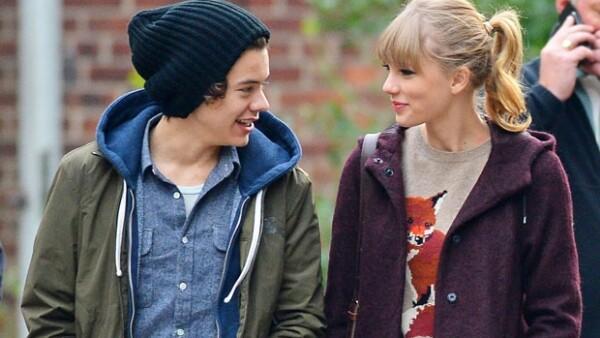 Taylor y Harry protagonizaron un romance a finales de 2012.