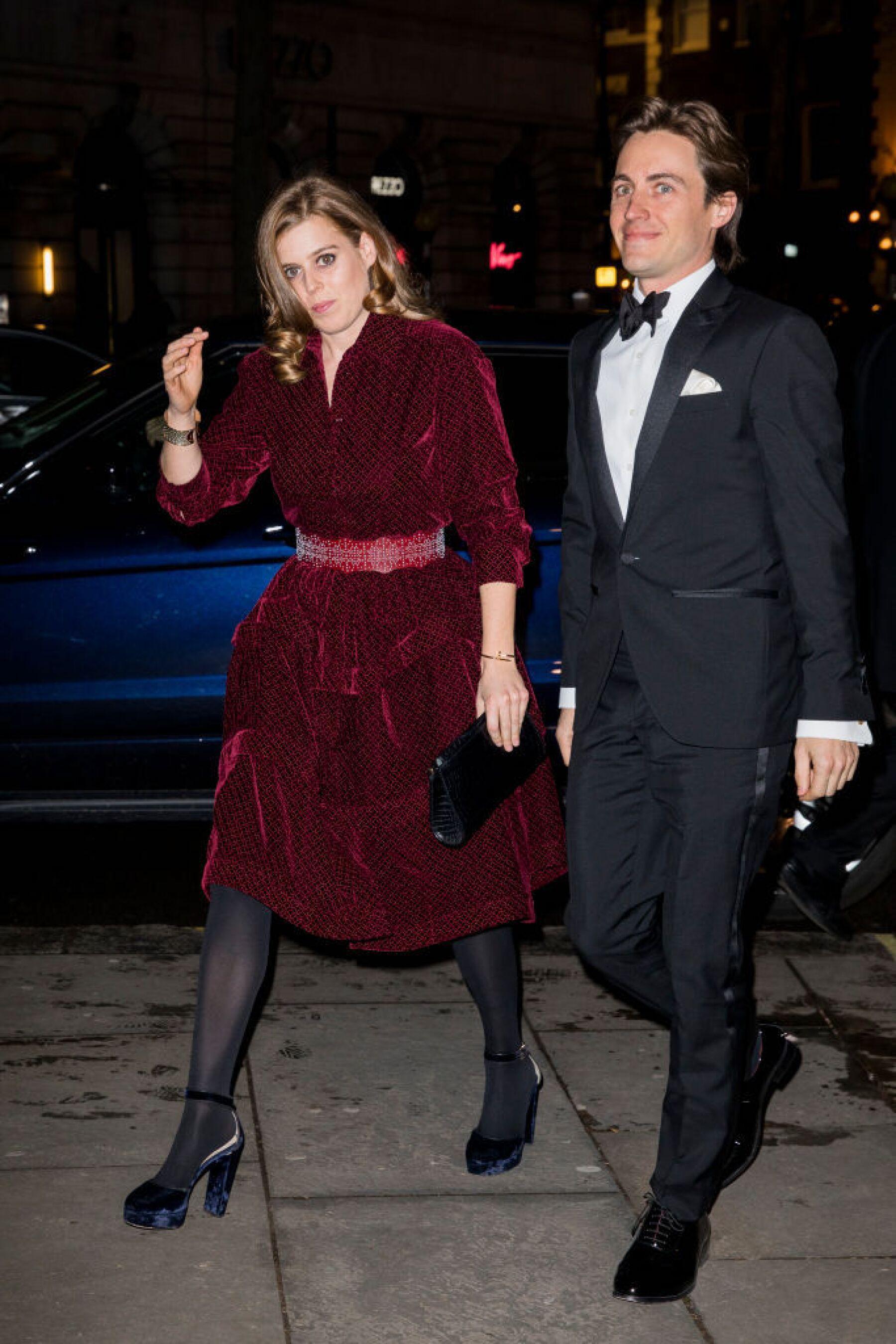 Princesa Beatriz y Edoardo Mapelli