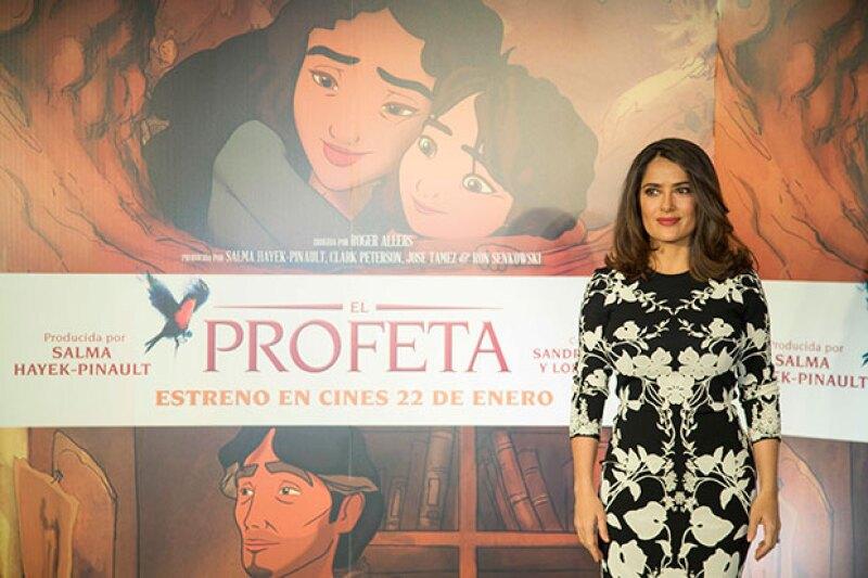 Aunque es una A-lister internacional, la actriz y productora mexicana se mostró sencilla y sus requerimientos no estuvieron fuera de este mundo.