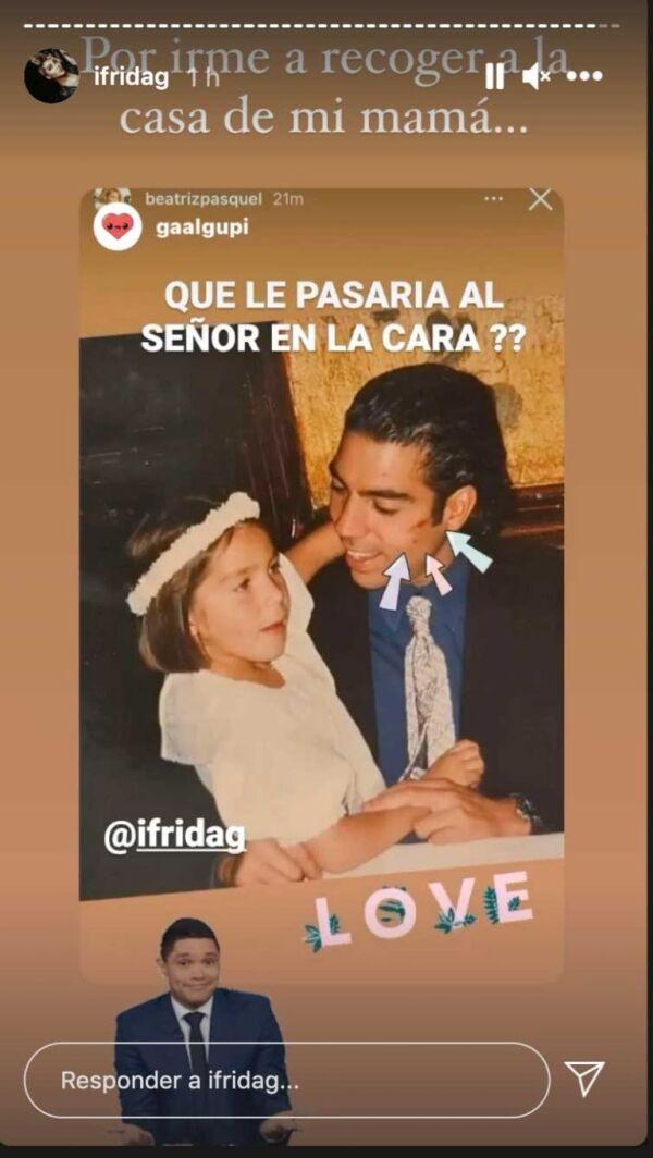 Frida Sofía y Pablo Moctezuma