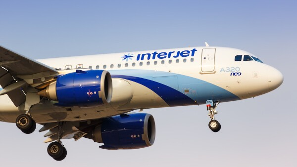 Interjet Airbus A320neo airplane