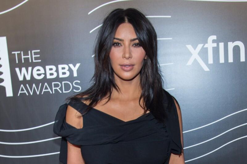 Kim presumió por tercera ocasión a su bebé de 6 meses.