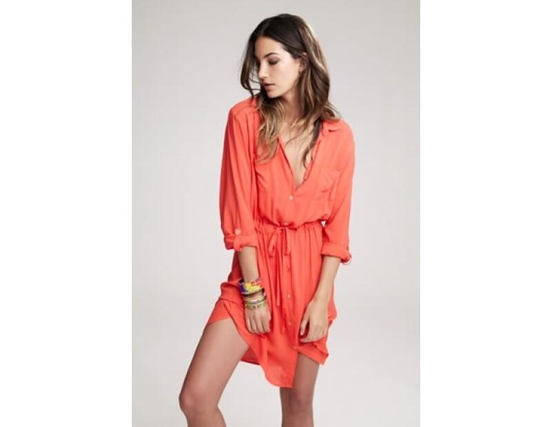 Amarillo, naranja, negro y blanco, además de los colores pastel, invaden la colección de Velvet y Lily Aldridge.