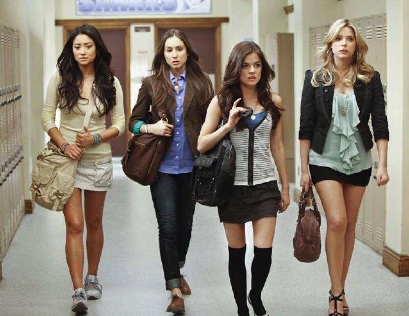 Las cuatro estudiantes de Rosewood High.