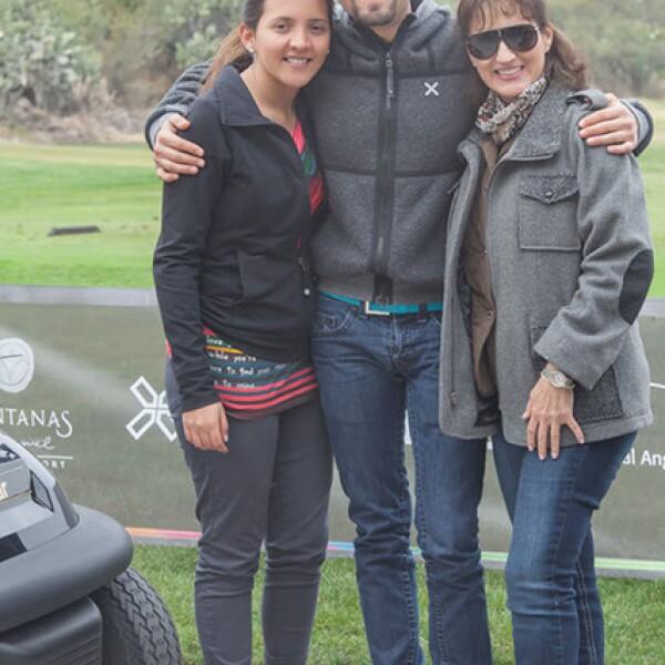Noemi Lauler,Oliver Madrazo y Laura Laurer