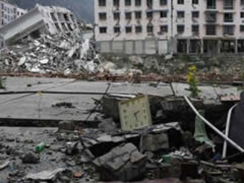 El terremoto que aquejó a China el año pasado tuvo una magnitud de 7.9 grados Richter.  (Foto: AP)