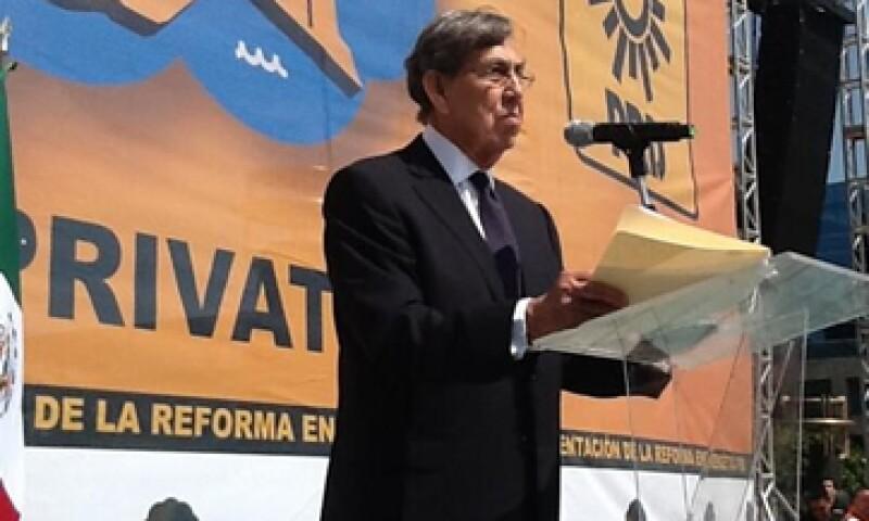 Cárdenas dijo que Pemex se debe modernizar sin privatizar a fin de que cuente con un mayor flujo de efectivo. (Foto tomada de twitter.com/PRDmexico)
