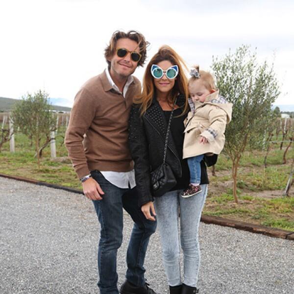 Mateo Gorina,Michelle Torres y Sienna Gorina