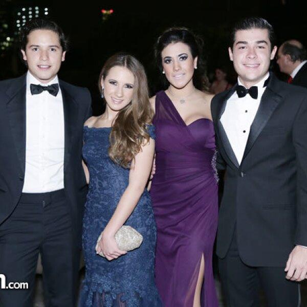 Gerardo Rivera,Adriana Aguilar,Estefanía Venegas,Ramón Riva