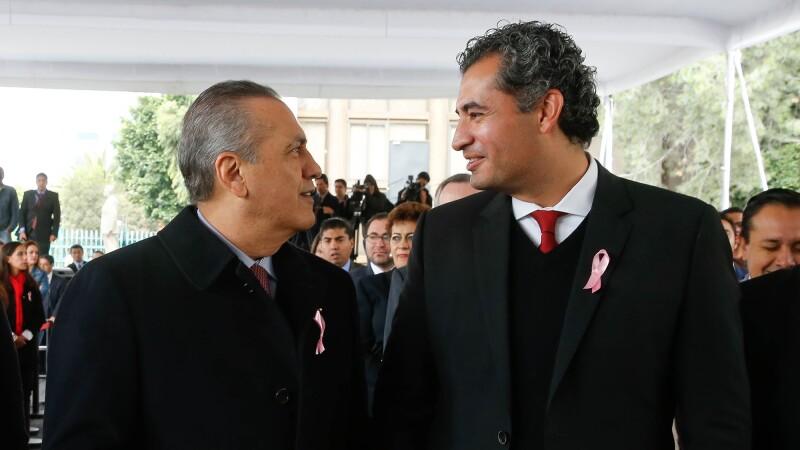 Tras la renuncia de Manlio Fabio Beltrones del PRI, Enrique Ochoa tomará su lugar.