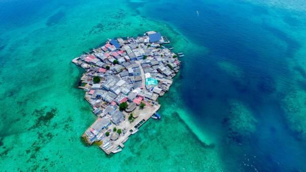 Isla colombia