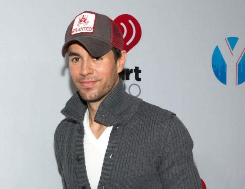 Enrique Iglesias grabó recientemente un dueto con la cantante australiana Kylie Minogue.