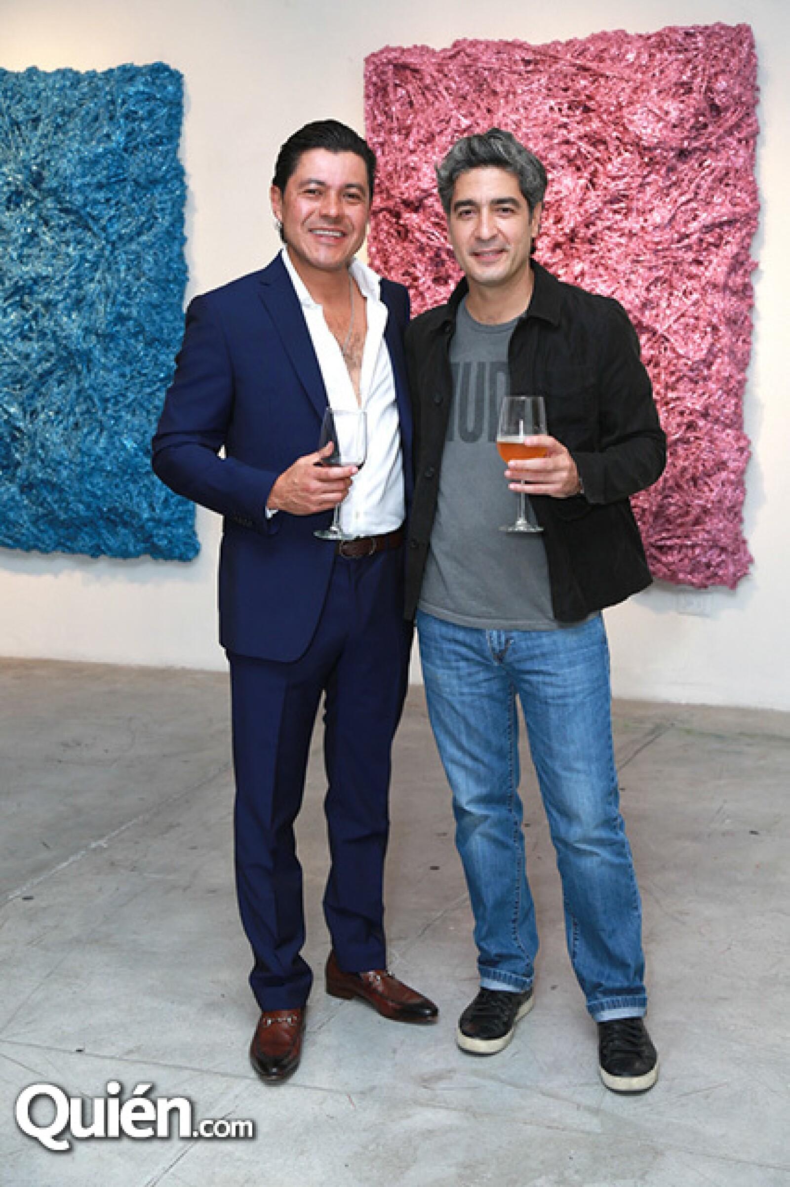 Omar Casas y Gabriel Elizondo