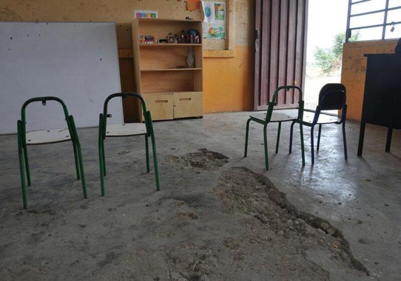Escuelas sin infraestructura