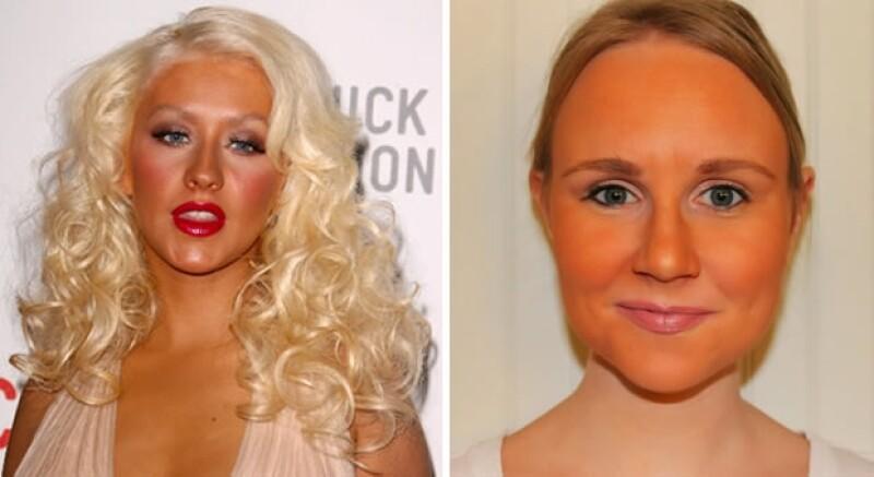 El blush es para resaltar zonas como pómulos y dar armonía al makeup, no se debe utilizar en toda la cara.