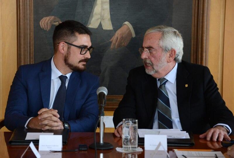 Convenio Sedat y UNAM
