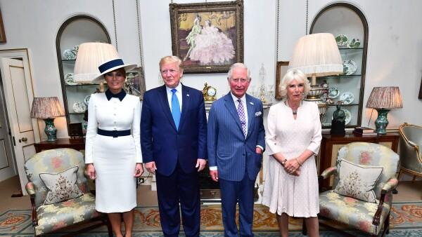 Los Trump y los duques Cournualles