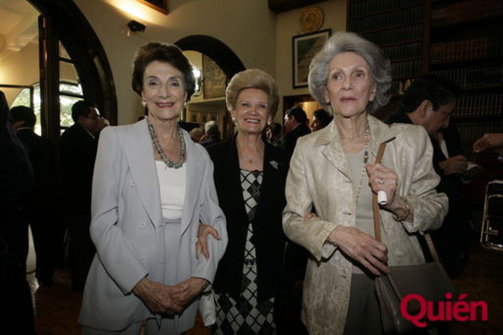 Julieta Marrón, Elena Estrada, Teresa Gaxiola