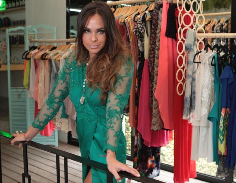 La hermana de Pepe Díaz se asoció con el estilista profesional Jonathan Mas para comenzar dicho proyecto.