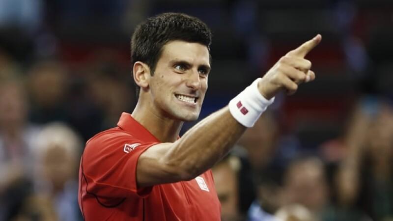 Novak Djokovic semifinal Shanghai