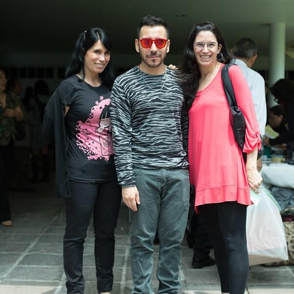 Claudia Reta, Gabriel Ibarzabal y Alejandra Reta
